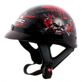 Moto přilba W-TEC AP-70 Barva černo-červená, Velikost XL (60-61)