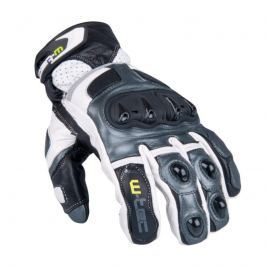 Pánské moto rukavice W-TEC Octane Barva bílá gunmetal, Velikost S