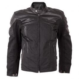Pánská moto bunda W-TEC Taggy New Barva matně černá, Velikost 3XL