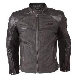 Pánská moto bunda W-TEC Flipside New Barva matně černá, Velikost M