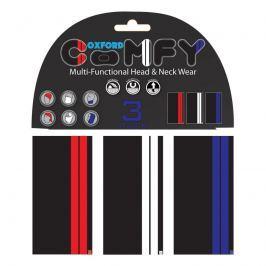 Univerzální multifunkční nákrčník Oxford Comfy 3-pack Barva Double Stripe