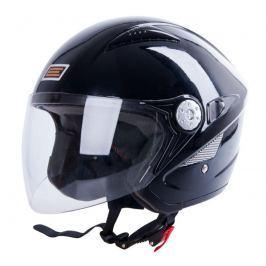 Moto helma ORIGINE V529 pearl black Velikost M (57-58)