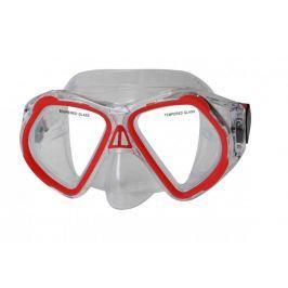 Potápěčská maska CALTER JUNIOR 4250P, červená