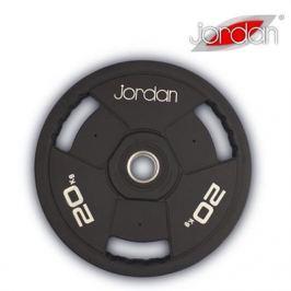 Olympijský kotouč JORDAN gumový 20 kg