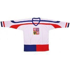 Hokejový dres ČR 2 Hokejový dres ČR 2, bílý, vel. L