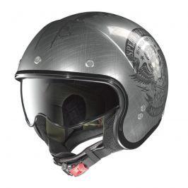 Moto helma Nolan N21 Speed Junkies Flat Asphalt Black Barva Flat Asphalt-Black, Velikost XL (61-62)