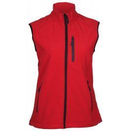 SVD-1 dámská softshellová vesta S;červená