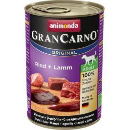 Animonda dog konzerva Gran Carno hovězí/jehně - 400g