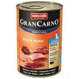 Animonda dog konzerva Gran Carno Junior hovězí / kuřecí - 400g