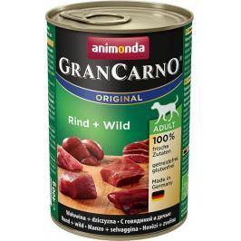 Animonda dog konzerva Gran Carno Plus zvěřina - 400g