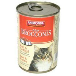 ANIMONDA cat konzerva BROCCONIS hovězí - 400g