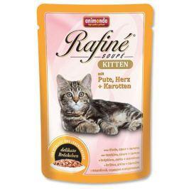 Animonda cat kapsa Rafiné Kitten 100g - drůbeží/krevety