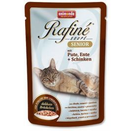 Animonda cat kapsa Rafiné Senior 100g - Krůta/kachna