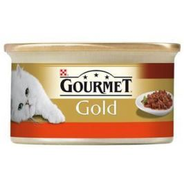 GOURMET GOLD CASSEROLE hovězí/kuře/rajč.sos - 85g