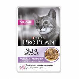 PROPLAN cat kapsa DELICATE 85g - Krůta