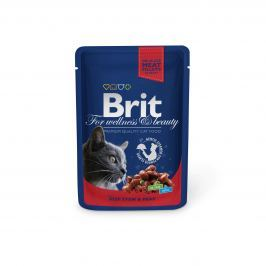 BRIT cat kapsa ADULT 100g - BEEF stew/peans