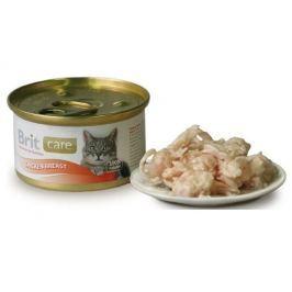 BRIT CARE cat konzerva 80g CHICKEN BREAST