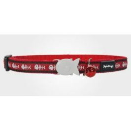 Obojek RD cat Fishbone Red 1 - 1,2/20-32cm