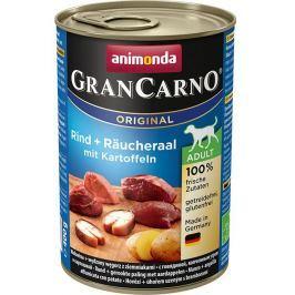 ANIMONDA dog konzerva Gran Carno uzený úhoř/brambory - 800g