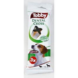 TOBBY - DENTAL CROSS - S-M 70g/3ks