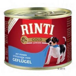 RINTI GOLD konzerva JUNIOR drůbeží - 185g