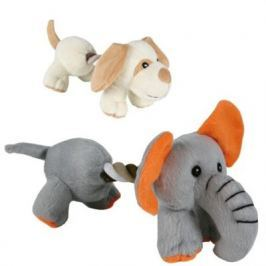 TRIXIE plyš - pejsek/slon s bavlnou 17cm