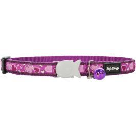 Obojek RD cat BREEZY LOVE - purple 1,2/20-30cm