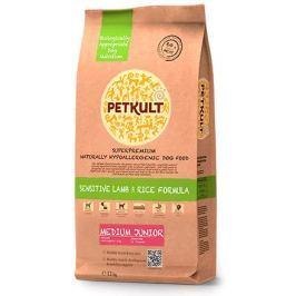PETKULT dog MEDIUM JUNIOR lamb/rice - 2 kg