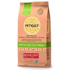 PETKULT dog MEDIUM ADULT lamb/rice - 2 kg