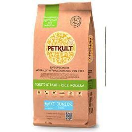 PETKULT dog MAXI JUNIOR lamb/rice - 12kg + GRATIS konz. PETKULT JUNIOR kuřecí 800g