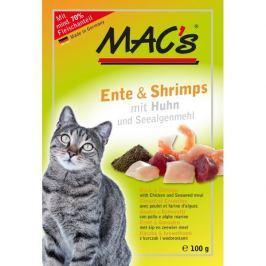 MACs cat kapsa KACHNA/KREVETY - 12x100g