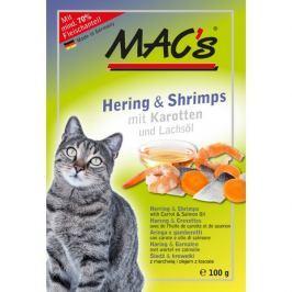 MACs cat kapsa SLEĎ/KREVETY - 100g