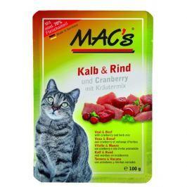 MACs cat kapsa TELECÍ/HOVĚZÍ - 100g