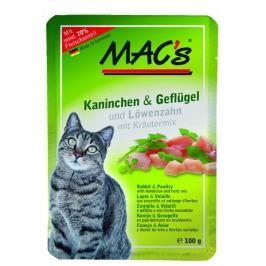 MACs cat kapsa KRÁLÍK/DRŮBEŽ - 12x100g