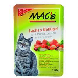 MACs cat kapsa LOSOS/DRŮBEŽ - 100g