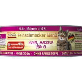 MACs cat konz. feinschmecker HUHN/MAKRELE - 6x100g