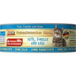 MACs cat konz. feinschmecker PUTE/FORELLE - 6x100g