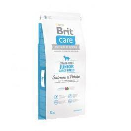 Brit Care dog Grain free Junior Large Breed Salmon & Potato - 1kg