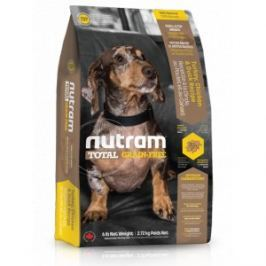 NUTRAM dog T27 - TOTAL GF turkey/chicken small - 2,72kg