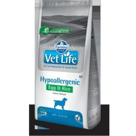 VET LIFE dog HYPO EGG & RICE natural - 12kg