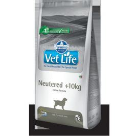 VET LIFE dog NEUTERED nad 10kg natural - 2kg