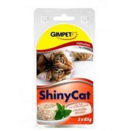 GIMPET ShinyyCat kuře - 2x70g