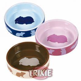 Miska (trixie) keramická pro křečky barevná 80ml/8cm