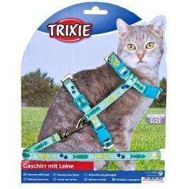 Postroj (trixie) s vodítkem na kočku pošitý stužkou 22-36cm/10mm