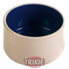 Miska (trixie) hlodavci keramická 0,1/7cm MODRO/BÉŽOVÁ