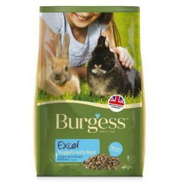 BURGESS excel RABBIT JUNIOR/dwarf - 2kg - EXPIRACE 11/2017