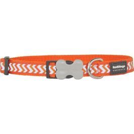 Obojek RD reflective ZIGGY/orange - 1,2/20-32cm