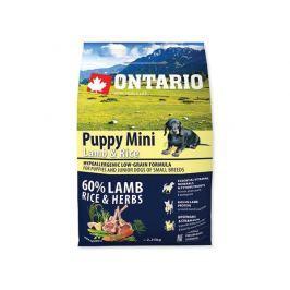 ONTARIO dog PUPPY MINI lamb - 2,25kg