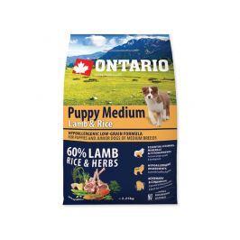 ONTARIO dog PUPPY MEDIUM lamb - 2,25kg