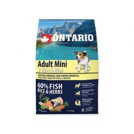 ONTARIO dog ADULT MINI fish - 2,25kg